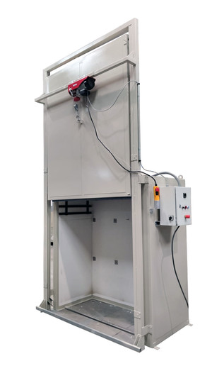 Secadero eléctrico para material cerámico