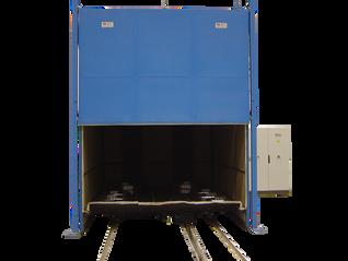 Horno eléctrico para tratamiento de piezas de grandes dimensiones a dilatación