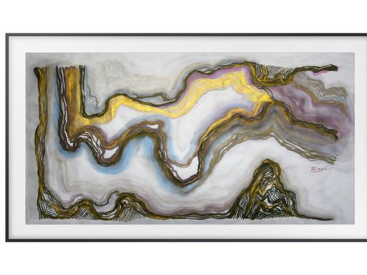 科技創意新紀元 全球首個 AI 藝術家辦畫展