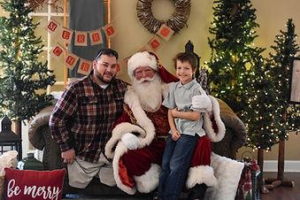 Sean, Benn and Santa.jpg