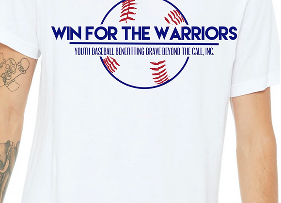Win For The Warriors Promotional - Short Sleeve