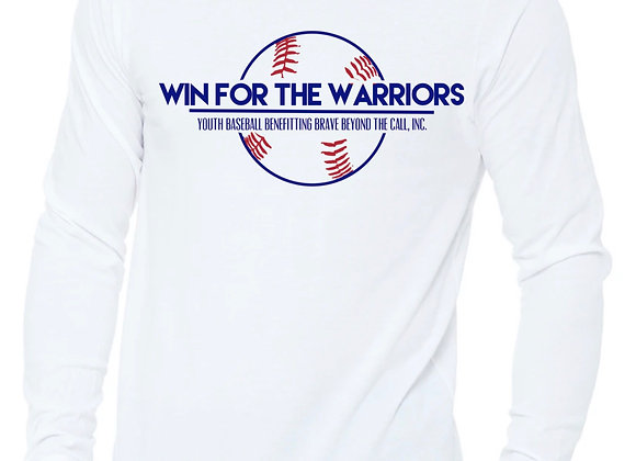 Win For The Warriors Promotional - Long Sleeve