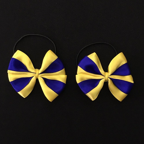 Double Lily Sprig Bow (Pair)