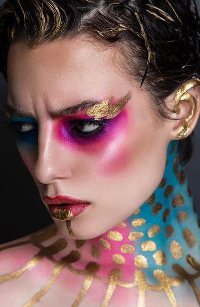 avant garde makeup