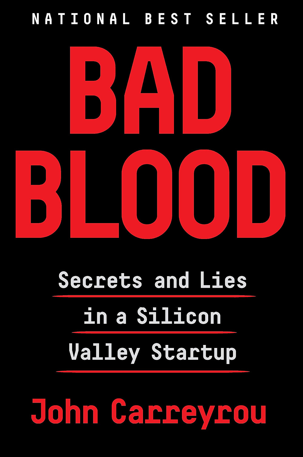 Book Talk: Bad Blood: Secrets and Lies in a Silicon Valley Startup by John Carreyrou_The BookWalker