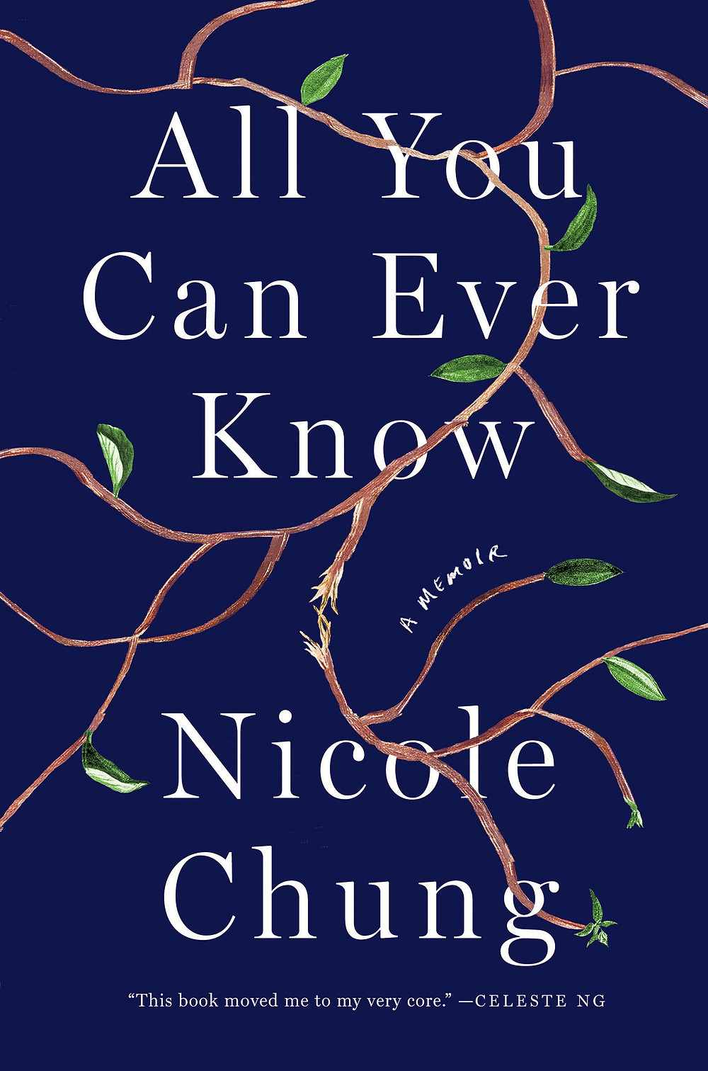 The BookWalker's Anticipated Indie Books of Fall 2018 List: All You Can Ever Know: A Memoir by Nicole Chung_The BookWalker