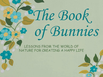 Book Talk: The Book of Bunnies: Lessons from the World of Nature for Creating a Happy Life by R. M.