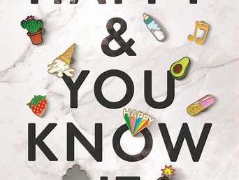 Book Talk: Happy and You Know It by Laura Hankin