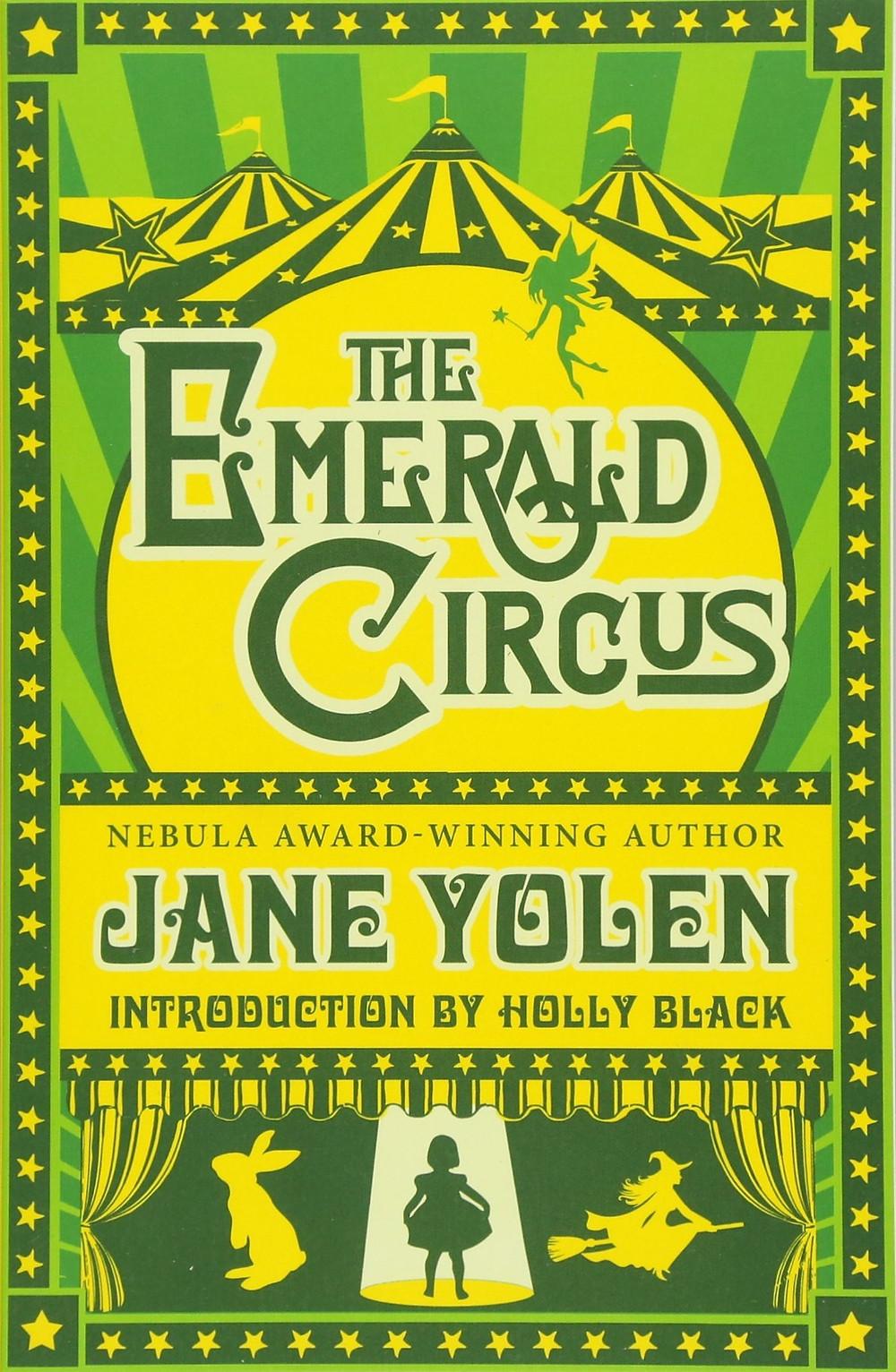 Book Talk: The Emerald Circus by Jane Yolen_The BookWalker