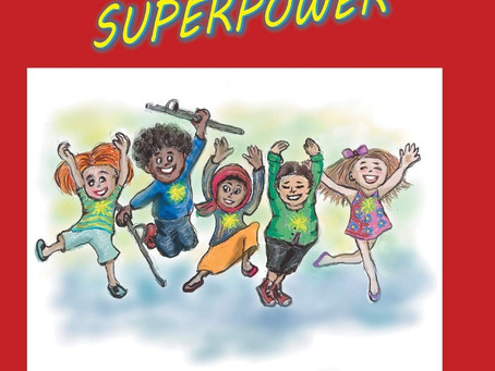 Book Buzz: We All Have a Superpower by Kristina Elliot