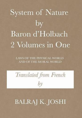Special Feature: System of Nature by Baron d'Holbach translated by Balraj Joshi_The BookWalker