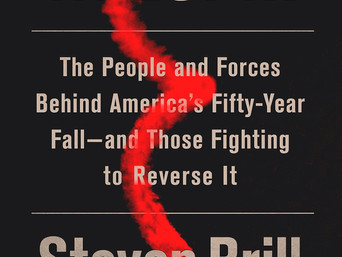 Book Discovery: Tailspin: The People and Forces Behind America's Fifty-Year Fall—and Those Fight