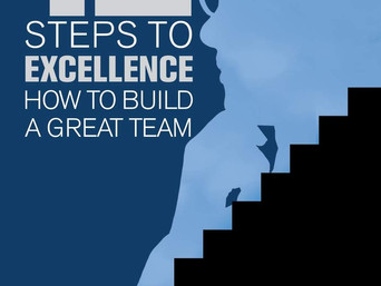 Book Talk: 12 Steps to Excellence: How to Build a Great Team by C David Crouch
