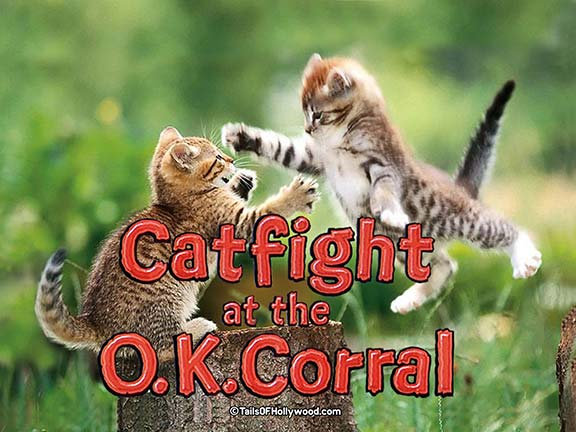 CATFIGHT AT THE OK CORRAL