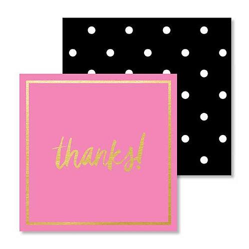 Gift Enclosure Card- Thanks