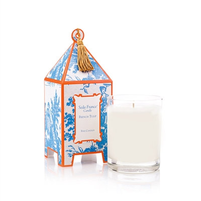 French Tulip Pagoda Candle
