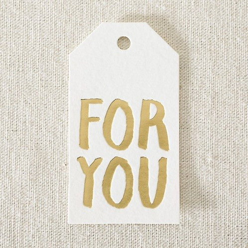 For You Die-Cut Gift Tags
