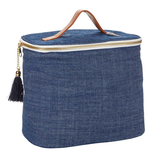 Chambray Lunch Bag