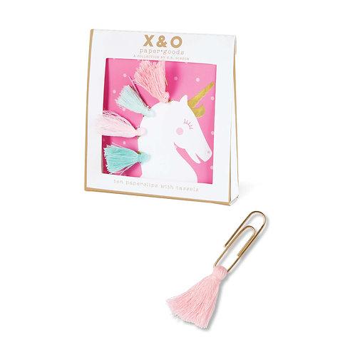 Paperclips - Unicorn Tassels