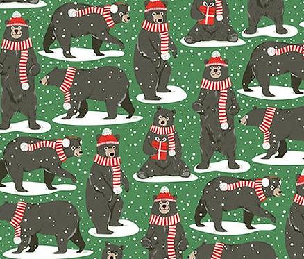 Holiday Bear Medium Bag