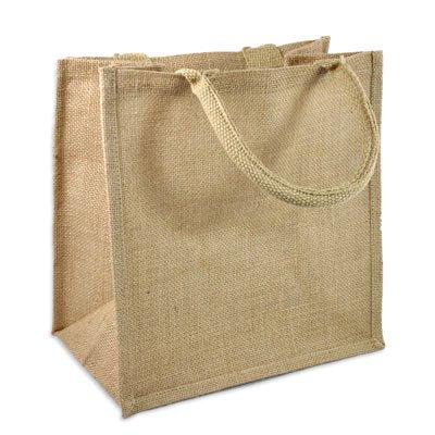 Jute Gift Bag 12x12