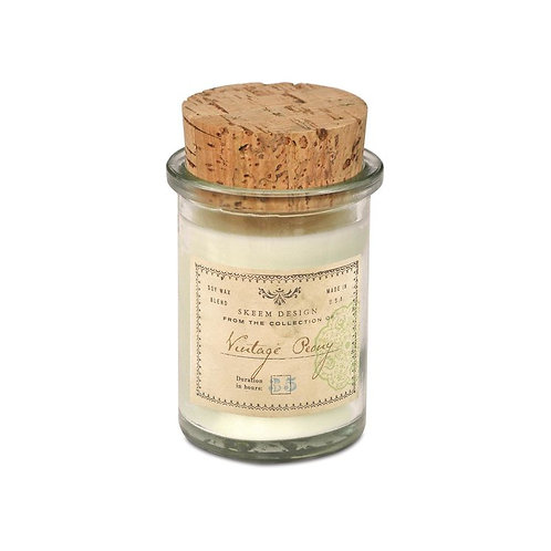 Vintage Peony Field Candle