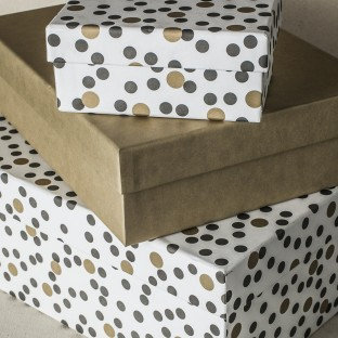 Gold Kraft Gift Box