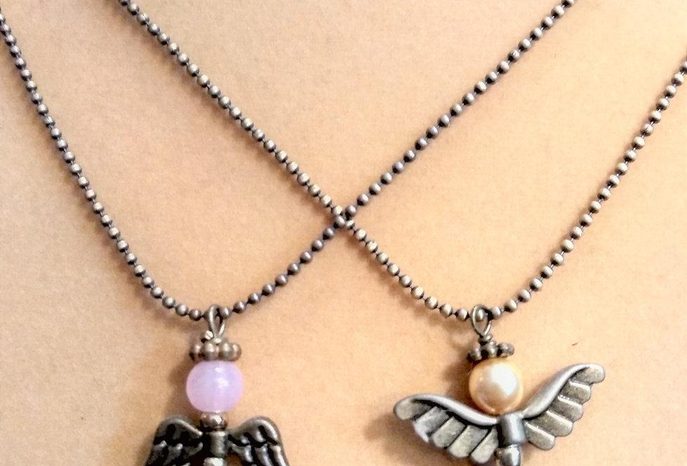 Angels Pendant Necklace