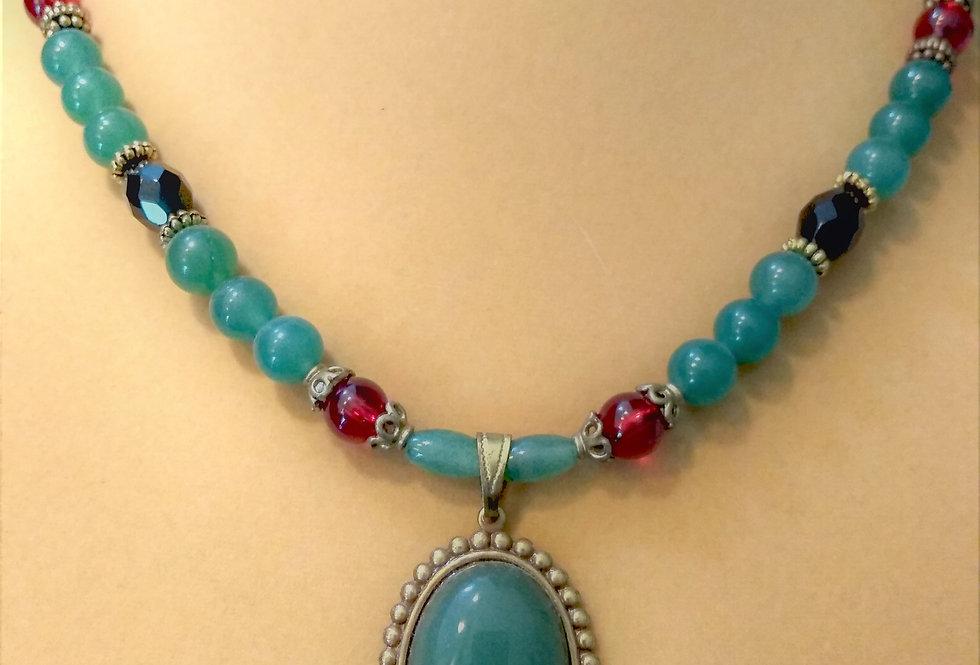Fancy Jade Necklace