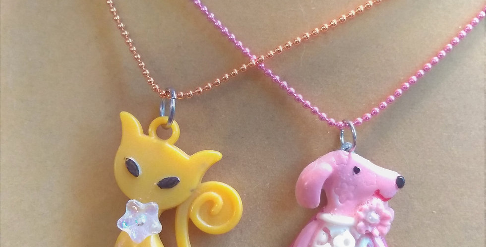 Cats & Dogs Necklace