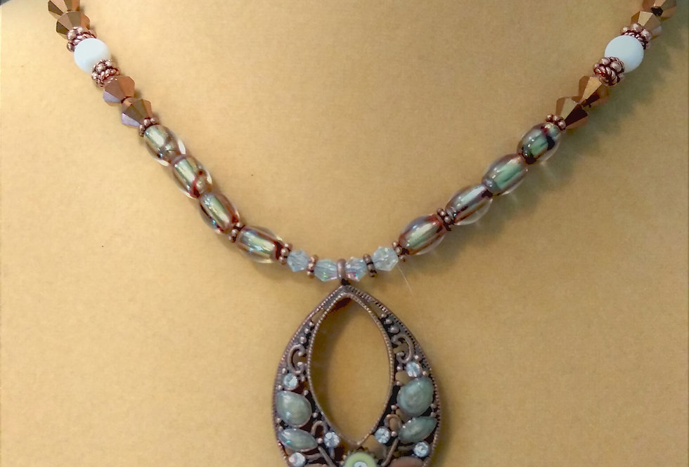 Copper & Gold (colored) Necklace