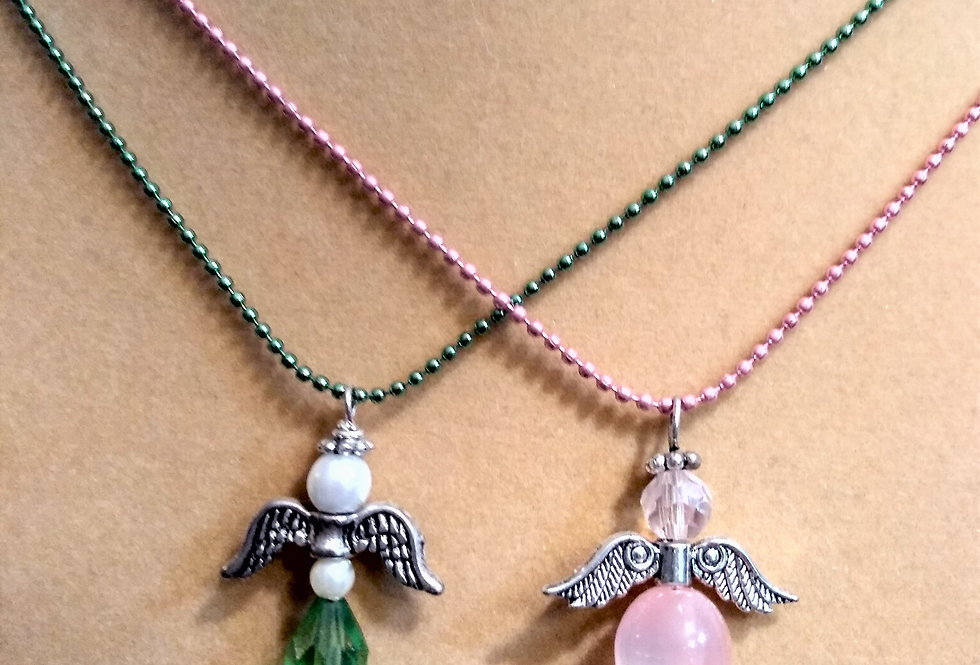 Angels Pendant Necklace