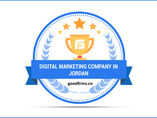 Growaholic Lab Recognized as a Premium Digital Marketing Company in Jordan By GoodFirms