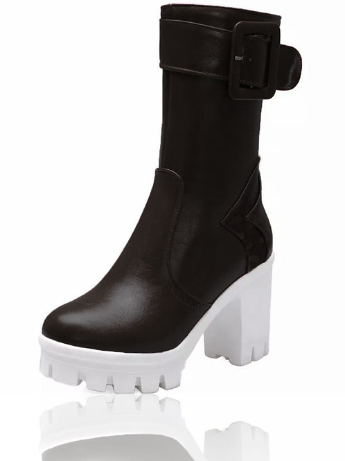 Zanda Black Ankle Boots
