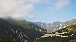Picturesque hilltop town