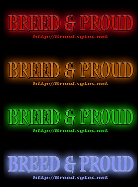 Breed & Proud Bumper Sticker