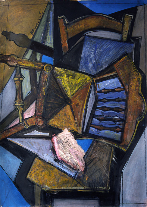 Composition with chairs
