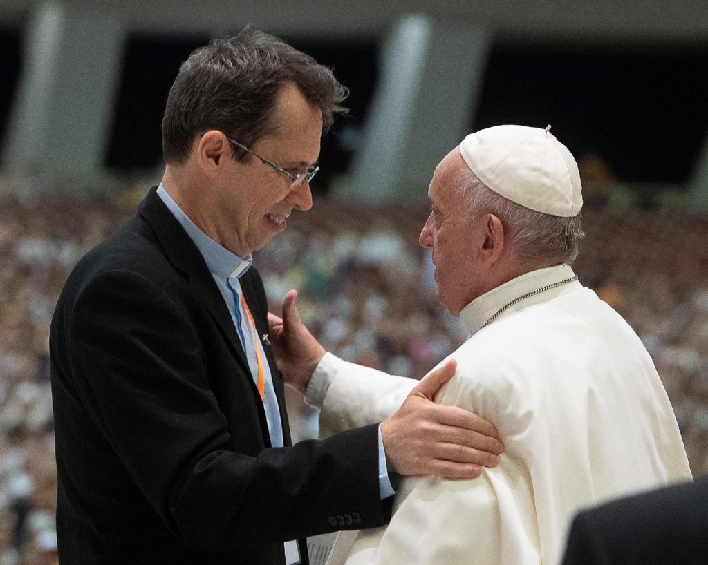 El Papa y el padre Fornos