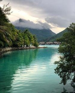 Golden Hour in Bora Bora, French Polynesia