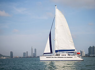 57ft fountaine pajot boat rental in panama