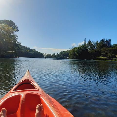 Kayaking on Cerro Azul Lake in Panama