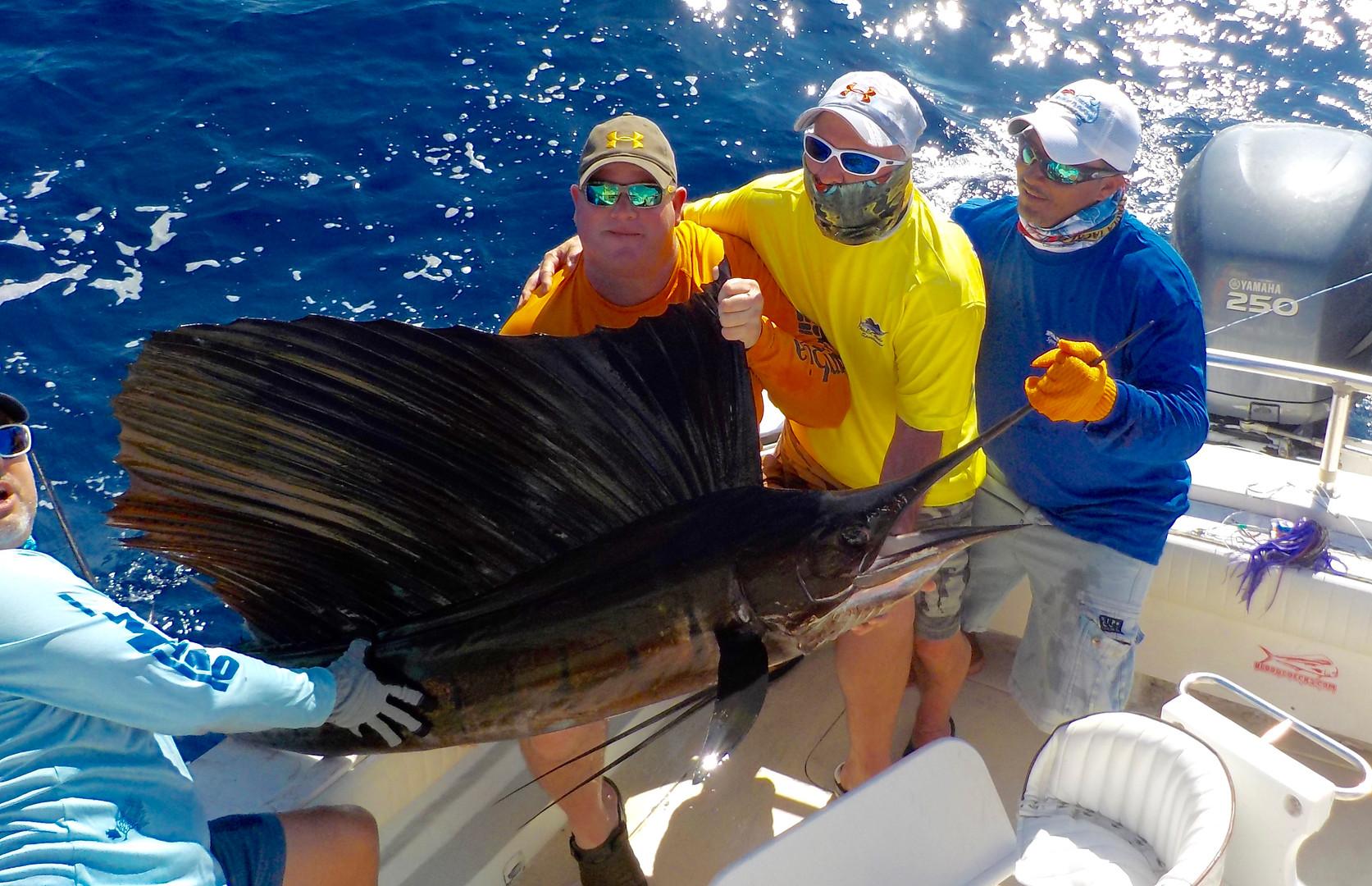 Panama Sailfish Fishing Coiba