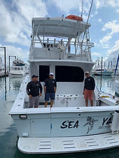 41ft viking available for rent in panama