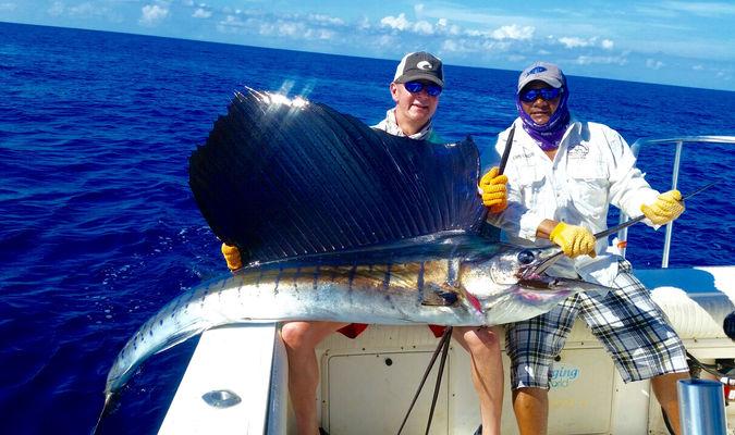 Marlin caught in Panama