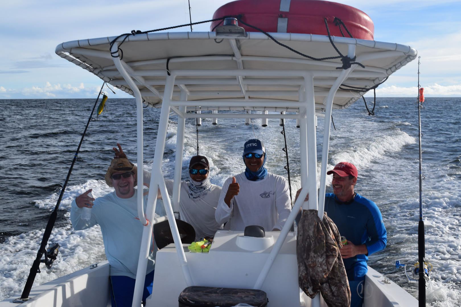 panama bachelor fishing trip