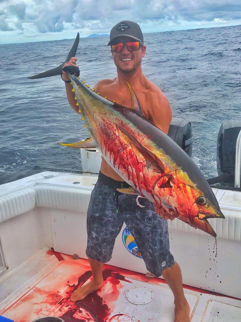 tuna fishing in panama coiba