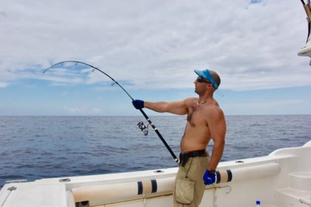 Panama sport fishing trip in boca chica