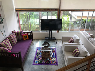 la semilla panama indoor living room