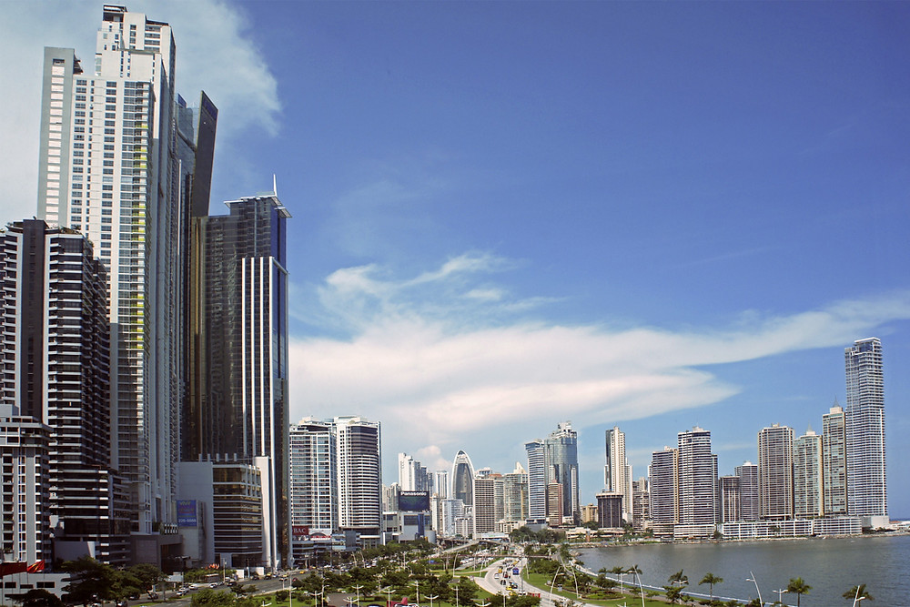 Panama City clear skies