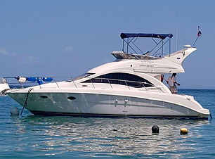 40ft sea ray boat rental in panama
